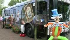 New Topeka and Shawnee County (Kans.) Public Library bookmobile, nicknamed Alice.