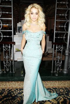 Rita Ora in Vivienne Westwood at the British Fashion Awards 2012