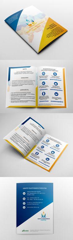 Brochure for Reforms Support Center   Olena M. Elance