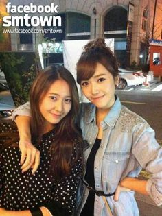 Jessica Jung & Krystal Jung - They're such stunning sisters.