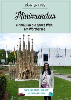 Ausflugstipp in #Klagenfurt. Besuch vom #Minimundus. In der kleinen Welt am #Wörthersee wurden die bekanntesten Sehenswürdigkeiten der Welt detailgetreu nachgebaut. #Ausflugstipp in #Kärnten für Weltenbummler und Familien mit Kindern