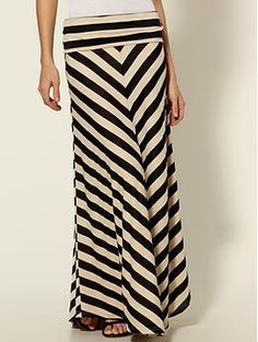 Hive & Honey Chevron Stripe Maxi Skirt | Piperlime... I love this skirt- this is one of my new favorite things to wear and I always get compliments on it, I love it!