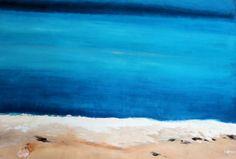 Prelude to the sea. Oil on canvas.  ©Silena