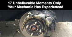 17 Unbelievable Moments Only Your Mechanic Has Experienced! http://www.odometer.com/lifestyle/12633/17-unbelievable-moments-only-your-mechanic-has-experienced?pid=null