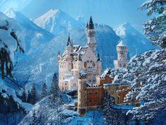 História Dinâmica: Lugares de nossa História:-Castelo de Neuschwastei...