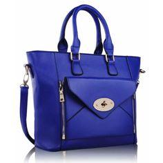 Front Pocket - Blue Shades Of Blue, Pocket, Handbags, Women, Fashion, Totes, Moda, Women's, La Mode