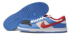 http://www.asneakers4u.com 318639 146 Nike Dunk Low SB Red Black White Blue K031102