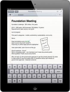 SoundNote: perfecte app om notitites te maken, geluid op te nemen, en op te slaan via online opslagopdiensten zoals Dropbox e.d.