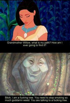 Pocahontas smokes weed too :)
