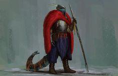 Northern dragonoid warden by ThemeFinland