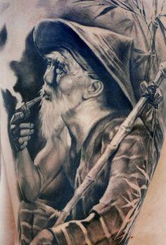 Tattoo Artist - Carlos Torres - Portraits tattoo