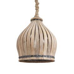 Creative Co-Op - Wood Ceiling Pendant Lamp Watt Bulb Maximum, Hard Wire Only) Wood Slat Ceiling, Wood Ceilings, Wood Slats, Wall Fixtures, Light Fixtures, Lights Fantastic, Pendant Lamp, Ceiling Pendant, Wood Chandelier