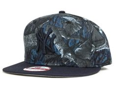 c518db66194 White Night Tree Camo New York Yankees 9Fifty Snapback Cap by NEW ERA x MLB