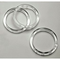 NAHANCO Plastic Scarf Rings 2 12 Inside Diameter Clear Pack of 100 *** Continue to the product at the image link. Scarf Storage, Scarf Organization, Flooring Sale, Scarf Rings, Girls Camp, You Are The Father, Household Items, Scarfs, Bracelets