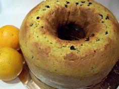 Ciambella alta con scorza di arancia e gocce di cioccolato, Ricetta Petitchef