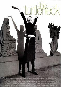 ☆ Angela Lindvall | Photography by Gilles Bensimon | For Elle Magazine US | August 1996 ☆ #Angela_Lindvall #Gilles_Bensimon #Elle #1996