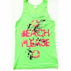 """Beach Please"" Adult Size"