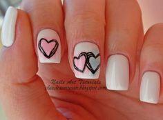 Claudia C. #nail #nails #nailart   kawaii Nail \(○^ω^○)/ uñas kawaii…