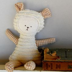 Teddy Bear Toy Soft Doll, Plush, Natural Eco Friendly