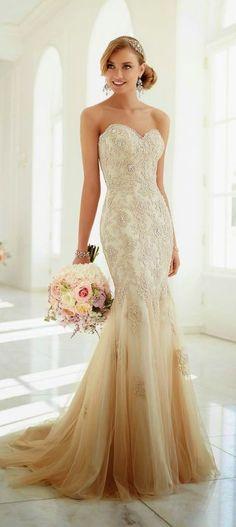 Vestidos de novia degradados | Tips Para bodas en ARG