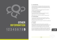 Emphasis Within Text  Employee Handbook Design
