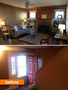 Before & After: Kate & Ellen's Living Room Revamp — January Cure Reader Projects