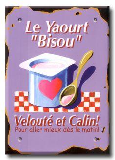 DOUILLET Le yaourt bisou