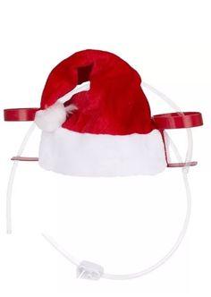 Set Of 2 Christmas Hats Spiral Santa Hats Fun Party Hats Adults