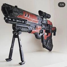 Gun from Destiny 2 by m.i.k_designs