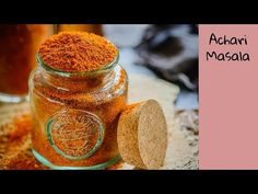 Achari Masala is a mix of Indian spices which is used to pickle variety of ingredients. This masala can be used to flavor various curries and starters. Paneer Recipes, Gujarati Recipes, Indian Food Recipes, Vegetarian Recipes, Cooking Recipes, Gujarati Food, Masala Powder Recipe, Masala Recipe, Indian Cookbook