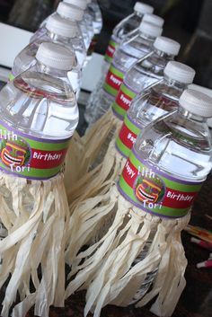 Hawaiian Luau Birthday Party drinks! See more party ideas at CatchMyParty.com!