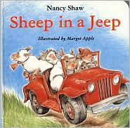 Sheep in a Jeep by Nancy E. Shaw - Sheep - Sheep in a Jeep by Nancy E. Best Toddler Books, Good Books, My Books, Story Books, Amazing Books, Free Books, Transportation Unit, Force And Motion, Phonological Awareness