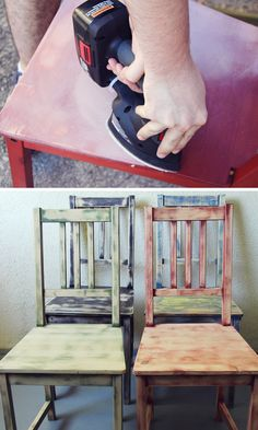 DIY Dining Chair Restyle   Lovely Indeed