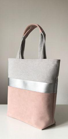 My jobs! Shoulderbag, woman, Powder, Silver, grey, bicolor