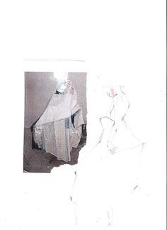 Soft etchings by Kiko Shirahata http://1granary.com/central-saint-martins-fashion/graduates/kiko-shirahata/