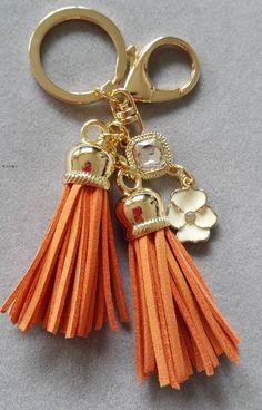 Llavero borla hechos a mano Super suave lindo de la borla de cuero llavero llavero moda bolso colgante de los encantos de 2 colores en una mejor regalo en Llaveros de Joyería en AliExpress.com   Alibaba Group