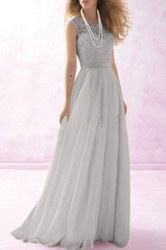 Stunning Round Neck Sleeveless Solid Color Maxi Dress For Women