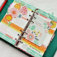 I have finally found my solution to two things I love to do!  I combined them!!!  Make a planner your own by using, stickers, washi tape, pretty papers and you can even make your own inserts that will help you with your scheduling and keeps you on task!  I'm addicted!!!!!!