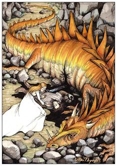 The Curse of Glaurung by ullakko.deviantart.com on @deviantART