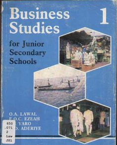 ZODML | Online Catalogue | Title - Business Studies for Junior Secondary Schools 1