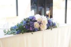#VressetRose #Wedding #blue #purple# white green # bouquet #maintable # table #Flower #Bridal #Vintage #ブレスエットロゼ #ウエディング# ブルー #パープル #ホワイトブルー#ビンテージカラー #ブーケ# ゲストテーブル #テーブル # 花#ナチュラル# ブライダル#結婚式