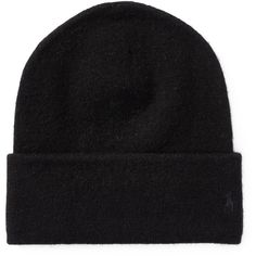 07cc2896404 Polo Ralph Lauren Cashmere Beanie ❤ liked on Polyvore featuring  accessories