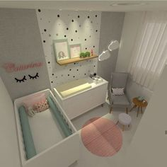 new house design Baby Bedroom, Baby Boy Rooms, Baby Room Decor, Nursery Room, Girls Bedroom, Baby Cribs, Baby Boys, Baby Room Design, Nursery Design