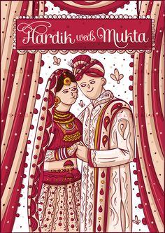 Print Ready Punjabi Wedding Invite Illustration and Design  #indianweddingcards #weddingcards #indianinvites #quirkyinvites #scdbalaji #scdb #illustratedinvites #inviteillustration #indianillustrator #bridegroomillustration #bigfatwedding #weddingstationary #invites #indianwedding #indianfolk #BridesofSCDBI #punjabiwedding #himduwedding #punjab #punjabibride #illustration #love #indianculture #india #savethedatecards #savethedate #bangalore #northindianwedding