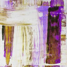 Image of 61713 print on stretched canvas- radiant orchid