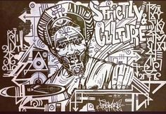 Dope piece by RasTerms aka Terockatron from here in the Bay Area!
