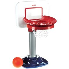 Fisher-Price I Can Play Basketball (140 BRL) ❤ liked on Polyvore featuring toys, baby, baby toys, drake and kids toys