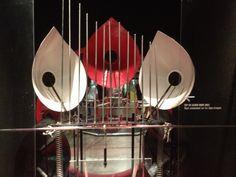 Baschet sound sculpture, Ontario Science Centre, Toronto