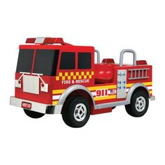 Kalee Fire Truck Battery Powered Riding Toy - KL-40027