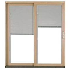 Aluminum Clad Wood White Left Hand Sliding Patio Door 5 In. Thick,  Protected From Decay, Water And Termites Aluminum Cladding Dual Point Lock  And ...